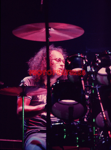 Deep Purple 1976 Ian Paice.© Chris Walter.