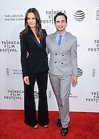 "15 April 2016 - New York, New York- Zac Posen, Katie Holmes. ""All We Had"" screening at Tribeca Film Festival 2016. Photo Credit: Mario Santoro/AdMedia"