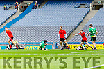 Darren O'Sullivan Glenbeigh Glencar scores his sides only goal against Rock Saint Patricks in the Junior Football All Ireland Final in Croke Park on Sunday.
