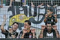 SÃO PAULO, SP, 26 AGOSTO DE 2012 - CAMPEONATO BRASILEIRO - CORINTHIANS x SÃO PAULO: Torcida do Corinthians após derrota na partida Corinthians x São Paulo,  válida pela 19ª rodada do Campeonato Brasileiro de 2012, em partida disputada no Estádio do Pacaembu em São Paulo. FOTO: LEVI BIANCO - BRAZIL PHOTO PRESS