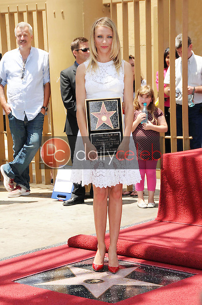 Cameron Diaz<br />at the Ceremony honoring Cameron Diaz with a Star on the Hollywood Walk of Fame. Hollywood Boulevard, Hollywood, CA. 06-22-09<br />Dave Edwards/DailyCeleb.com 818-249-4998