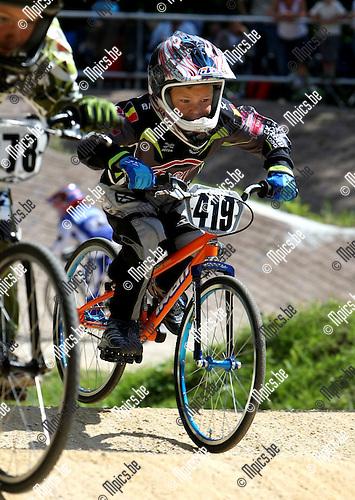 2008-08-15 / BMX / Ravels / Boys 8 / Robbe Verschueren..Foto: Maarten Straetemans (SMB)