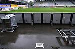 FussballFussball: agnph001:  1. Bundesliga Saison 2019/2020 27. Spieltag 23.05.2020<br /> SC Freiburg - SV Werder Bremen<br /> Fotografenplatz auf der Gegengerade im leeren Schwarzwald-Stadion<br /> FOTO: Markus Ulmer/Pressefoto Ulmer/ /Pool/gumzmedia/nordphoto<br /> <br /> Nur für journalistische Zwecke! Only for editorial use! <br /> No commercial usage!