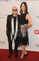 NEW YORK, NY - NOVEMBER 02: Bernie Taupin and Heather Taupin attends 15th Annual Elton John AIDS Foundation An Enduring Vision Benefit at Cipriani Wall Street on November 2, 2016 in New York City.Photo by John Palmer/ MediaPunch