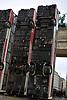 """Nov. 11-17,Berlin,GER """"Monument"""" by Manaf Halbouni at Brandenburger gate"""
