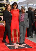 LOS ANGELES, CA. January 28, 2019: Taraji P. Henson, Bernice Gordon &amp; Patsy Ballard at the Hollywood Walk of Fame Star Ceremony honoring Taraji P. Henson.<br /> Pictures: Paul Smith/Featureflash