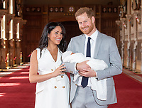 Duke and Duchess Of Sussex New Baby Boy Photocall