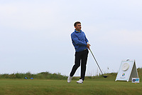 Matthew Owain (WAL) on the 1st tee during Round 1of the Flogas Irish Amateur Open Championship 2019 at the Co.Sligo Golf Club, Rosses Point, Sligo, Ireland. 16/05/19<br /> <br /> Picture: Thos Caffrey / Golffile<br /> <br /> All photos usage must carry mandatory copyright credit (© Golffile | Thos Caffrey)