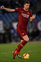 Edin Dzeko of AS Roma in action during the Serie A 2018/2019 football match between AS Roma and Sassuolo at stadio Olimpico, Roma, December, 26, 2018 <br />  Foto Andrea Staccioli / Insidefoto