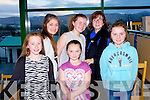 FUN AT THE TRACK: Having great fun at the Mounthawk secondary school Night at the Dogs at the Kingdom Greyhound Stadium on Saturday l-r: Nicola Moriarty, Lauryn Griffin, Megan O'Donnell, Lucy O'Donnell, Cora Walsh and Rachel O'Donnell, Tralee.