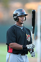 Jose Tabata - Scottsdale Scorpions, 2009 Arizona Fall League.Photo by:  Bill Mitchell/Four Seam Images..