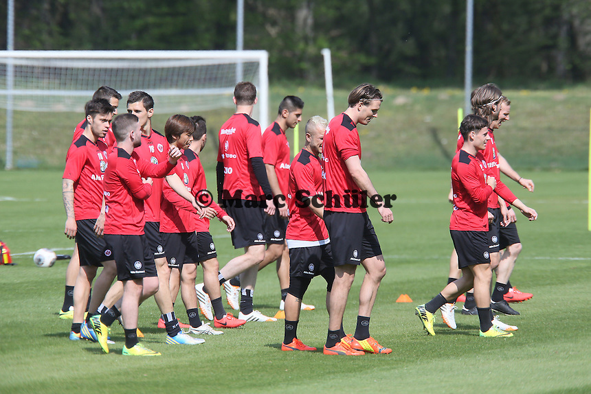 - Eintracht Frankfurt Training
