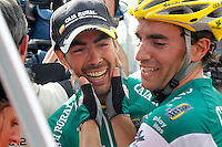 Antonio Piedra celebrates the victory in the stage of La Vuelta 2012 between La Robla and Lagos de Covadonga.September 2,2012. (ALTERPHOTOS/Paola Otero) /NortePhoto.com<br /> <br /> **CREDITO*OBLIGATORIO** <br /> *No*Venta*A*Terceros*<br /> *No*Sale*So*third*<br /> *** No*Se*Permite*Hacer*Archivo**<br /> *No*Sale*So*third*