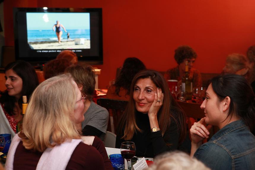 Judy Byron's Closing Party, a fundraiser for Kristen Arant's Young Women's Drumming Empowerment program. Washington DC Oct. 22, 2011  © Rick Reinhard 2011