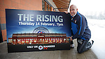 Kenny McDowall promotes a Rangers TV show about a year on from administration