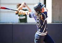 Florida International University infielder Jessy Alfonso (8) plays against the University of Massachusetts which won the game 3-1 on February 11, 2012 at Miami, Florida. .