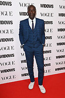 "LONDON, UK. October 31, 2018: Oswald Boateng at the ""Widows"" special screening in association with Vogue at the Tate Modern, London.<br /> Picture: Steve Vas/Featureflash"