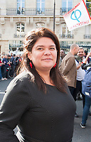 September 23 2017, Paris, France - Demonstration against the Reform of Labour Law led by the French politician Jean-Luc Melenchon Leader of 'La France Insoumise'. Raquel Garrido, the spokeswoman of Melenchon was present. # MANIFESTATION CONTRE LA LOI TRAVAIL EN FRANCE