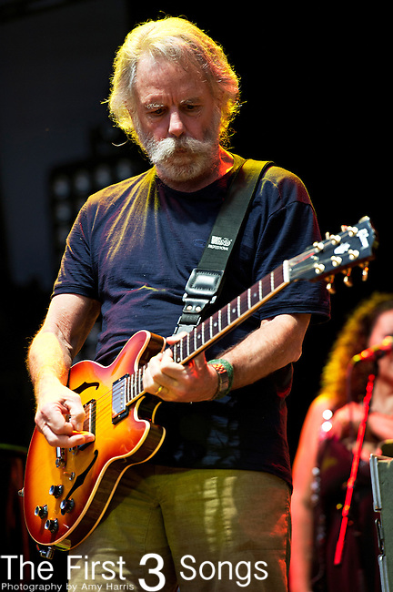 Bob Wier of Furthur performs during the All Good Music Festival at Legend Valley in Thornville, Ohio.
