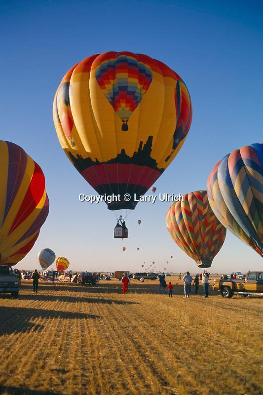 Madera Hot Air Balloon Festival<br /> Madera<br /> San Joaquin Valley<br /> California