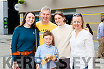 Jennifer, Conor, John, Rachel and Gene Hannafin, Tralee at Tralee Food Fair on Sunday.