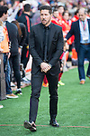 Atletico de Madrid's coach Diego P. Simeone during BBVA La Liga match. April 02,2016. (ALTERPHOTOS/Borja B.Hojas)