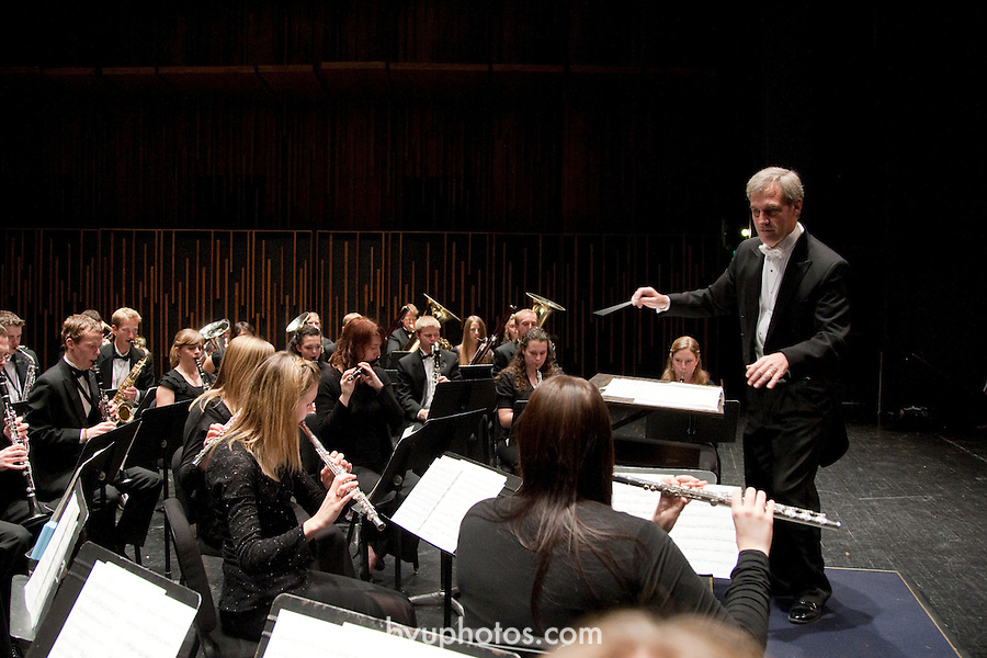 Wind Symphony.Don Peterson, Director..October 29, 2008..Photography by Mark A. Philbrick..Copyright BYU Photo 2008.All Rights Reserved .photo@byu.edu  (801)422-7322