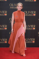 Anne Marie Duff arriving for the Olivier Awards 2018 at the Royal Albert Hall, London, UK. <br /> 08 April  2018<br /> Picture: Steve Vas/Featureflash/SilverHub 0208 004 5359 sales@silverhubmedia.com