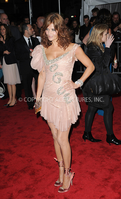 WWW.ACEPIXS.COM . . . . . ....May 4 2009, New York City....Helena Christensen arriving at 'The Model as Muse: Embodying Fashion' Costume Institute Gala at The Metropolitan Museum of Art on May 4, 2009 in New York City.....Please byline: KRISTIN CALLAHAN - ACEPIXS.COM.. . . . . . ..Ace Pictures, Inc:  ..tel: (212) 243 8787 or (646) 769 0430..e-mail: info@acepixs.com..web: http://www.acepixs.com