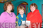 DANCE;  Elizabeth McCarthy, Bríd Supple and Mary O'Halloran (Ballyheigue) at the St Vincent De Paul Charity dance on Women's Chriastmas Friday night in the White Sands Hotel. ..