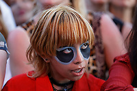 Pictured: Manic Street Preachers fan. Saturday 29 June 2019<br /> Re: Manic Street Preachers concert at Cardiff Castle, south Wales, UK.