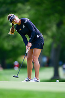 Belen Mozo (ESP) watches her putt on 16 during Thursday's round 1 of the 2017 KPMG Women's PGA Championship, at Olympia Fields Country Club, Olympia Fields, Illinois. 6/29/2017.<br /> Picture: Golffile | Ken Murray<br /> <br /> <br /> All photo usage must carry mandatory copyright credit (&copy; Golffile | Ken Murray)