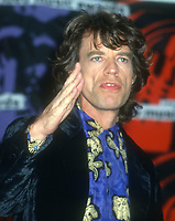 Mick Jagger<br /> 1992<br /> Photo By Michael Ferguson/CelebrityArchaeology.com