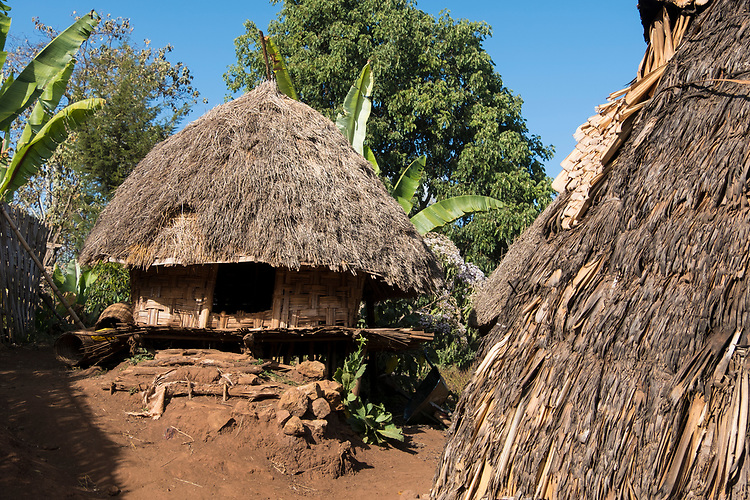 The Dorze people are renowned cotton weavers whose tall beehive-shaped dwellings are among the most distinctive traditional structures to be seen anywhere in Africa.