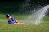C.T. Pan (TPE) on the 15th green side bunker during the 3rd round at the WGC HSBC Champions 2018, Sheshan Golf CLub, Shanghai, China. 27/10/2018.<br /> Picture Fran Caffrey / Golffile.ie<br /> <br /> All photo usage must carry mandatory copyright credit (&copy; Golffile | Fran Caffrey)