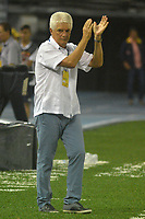 BARRANQUILLA - COLOMBIA, 12-AGOSTO-2017:Julio Comesaña director técnico del Atlético Junior.Atlético Junior y Envigado FC en partido por la fecha 7 de la Liga Águila II 2017 jugado en el estadio Metropolitano Roberto Meléndez de la ciudad de Barranquilla. / Julio Comesana coch of Atletico Junior agaisnt of Envigado FC in match for the date 7 of the Aguila League II 2017 played at Metropolitano Roberto Melendez stadium in Barranquilla city. Photo: Vizzorimage / Alfonso Cervantes / Stringer