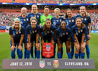 USWNT vs China PR, June 12, 2018