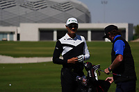 Haotong Li (CHN) during the Preview of the Commercial Bank Qatar Masters 2020 at the Education City Golf Club, Doha, Qatar . 03/03/2020<br /> Picture: Golffile   Thos Caffrey<br /> <br /> <br /> All photo usage must carry mandatory copyright credit (© Golffile   Thos Caffrey)