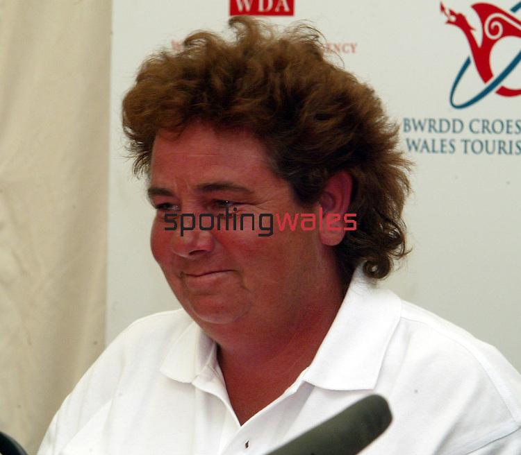Dale Reid.European Solheim Cup captain