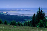 View of Humboldt Bay from Fickle Hill, Eureka / Arcata, Humboldt County, CALIFORNIA