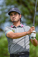 Abraham Ancer (MEX) watches his tee shot on 2 during day 4 of the Valero Texas Open, at the TPC San Antonio Oaks Course, San Antonio, Texas, USA. 4/7/2019.<br /> Picture: Golffile | Ken Murray<br /> <br /> <br /> All photo usage must carry mandatory copyright credit (© Golffile | Ken Murray)
