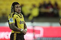 Ma'a Nonu. Super 15 rugby match - Crusaders v Hurricanes at Westpac Stadium, Wellington, New Zealand on Saturday, 18 June 2011. Photo: Dave Lintott / lintottphoto.co.nz
