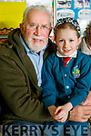 Tony Casey and Mia Casey, pictured at Grandparents day at Scoil Eoin, Balloonagh, Tralee on Tuesday last.