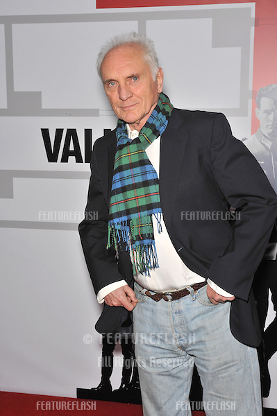 "Terence Stamp at the Los Angeles premiere of his new movie ""Valkyrie"" at the Directors Guild of America Theatre, Los Angeles..December 18, 2008  Los Angeles, CA.Picture: Paul Smith / Featureflash"