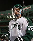 Matt Brazel (Babson - 22) (? - Beav) - The UMass Boston Beacons defeated the Babson College Beavers 5-1 on Thursday, January 12, 2017, at Fenway Park in Boston, Massachusetts.