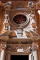 Baroque Chiesa del Collegio, Trapani, Sicily