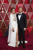 www.acepixs.com<br /> <br /> February 26 2017, Hollywood CA<br /> <br /> Model Chrissy Teigen arriving at the 89th Annual Academy Awards at Hollywood &amp; Highland Center on February 26, 2017 in Hollywood, California.<br /> <br /> By Line: Z17/ACE Pictures<br /> <br /> <br /> ACE Pictures Inc<br /> Tel: 6467670430<br /> Email: info@acepixs.com<br /> www.acepixs.com