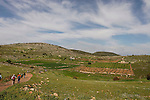 Israel, the Lower Galilee. Wadi Yodfat