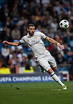 Karim Benzema of Real Madrid in action during the 2016-17 UEFA Champions League match between Real Madrid and Legia Warszawa at the Santiago Bernabeu Stadium on 18 October 2016 in Madrid, Spain. Photo by Diego Gonzalez Souto / Power Sport Images