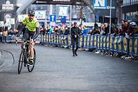 Kenny Dehaes (BEL/Wallonie Bruxelles) pre race<br /> <br /> <br /> 82nd Gent – Wevelgem in Flanders Fields 2019 (1.UWT)<br /> Deinze – Wevelgem: 251,5km<br /> ©kramon